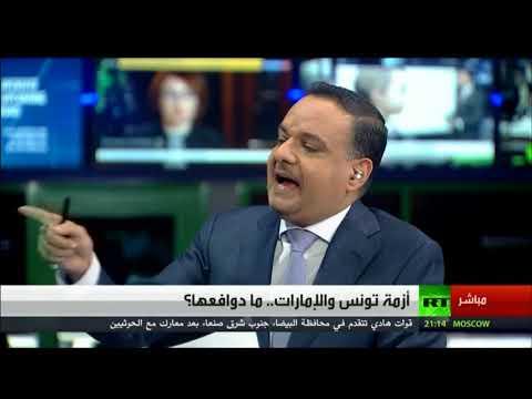 Live Broadcast from Our Media Studio, Dubai- Mr.Mustafa AL Zarooni For RT Arabic- 25/12/2017