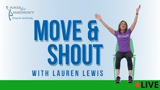 Power for Parkinson's Move & Shout Live Streaming Day 327