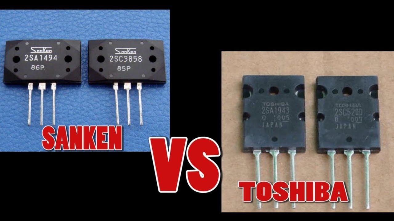 Qa Karakter Suara Toshiba Dan Sanken 1 Youtube Simple Amplifier With C945mje340 And Tip3055