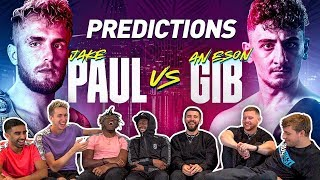 SIDEMEN PREDICT ANESONGIB VS JAKE PAUL