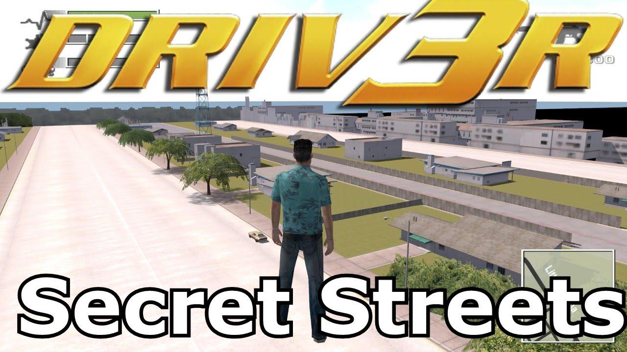 DRIV3R - Secret Streets - VortexStory