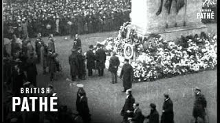 Service At The Cenotaph (1919)