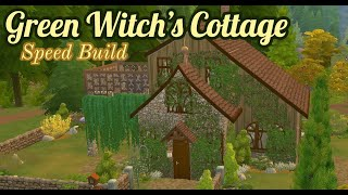 Green Witch's Cottage | Sims 4 Speed Build | No CC