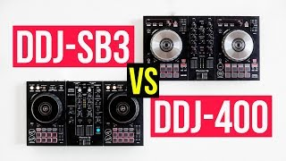 DDJ-SB3 VS DDJ-400 (one of them disappointed me but...)