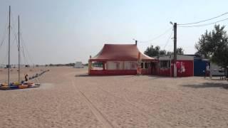 Кемпинг на Азовском море пляж Оазис под Ачуево(Обзорное видео кемпинга Оазис на Азовском море. Кемпинг находится в Славянском районе, Краснодарского..., 2015-08-14T07:10:52.000Z)