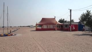 Кемпинг на Азовском море пляж Оазис под Ачуево