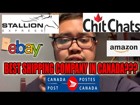 The Best Shipping Company for Selling on Ebay and Amazon in Canada (FULL REVIEW) 2019