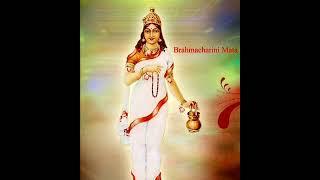 Mata Brahmacharini Stuti - Navratri Day-2 : माता ब्रह्मचारिणी स्तुति, नवरात्रि - द्वितीय  दिन