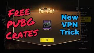 Free PUBG Crate Coupon | New VPN Trick | 6 PUBG Crate
