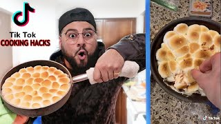 We TESTED Viral TikTok COOKING Life Hacks .... (THEY WORKED!)