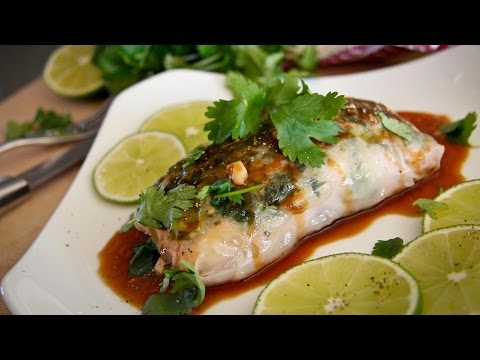 Salmon Steamed In Rice Paper Recipe: Chef Julie Yoon