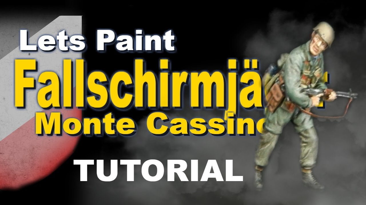 How to Paint 1/35 German Fallschirmjager Monte Cassino ...