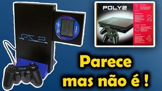 Clones descarados do Playstation 2 PS2 Consoles Piratas