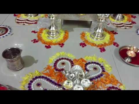 Quick n easy flower decoration for festival thumbnail