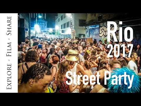 Rio Carnival Street Party - Amazing live MUSIC and DANCING!!