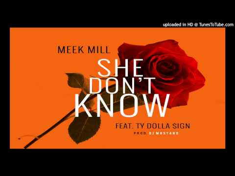 Meek Mill - She Dont Know Feat. Ty Dolla $ign [Produced By DJ Mustard & The Grym Beater]