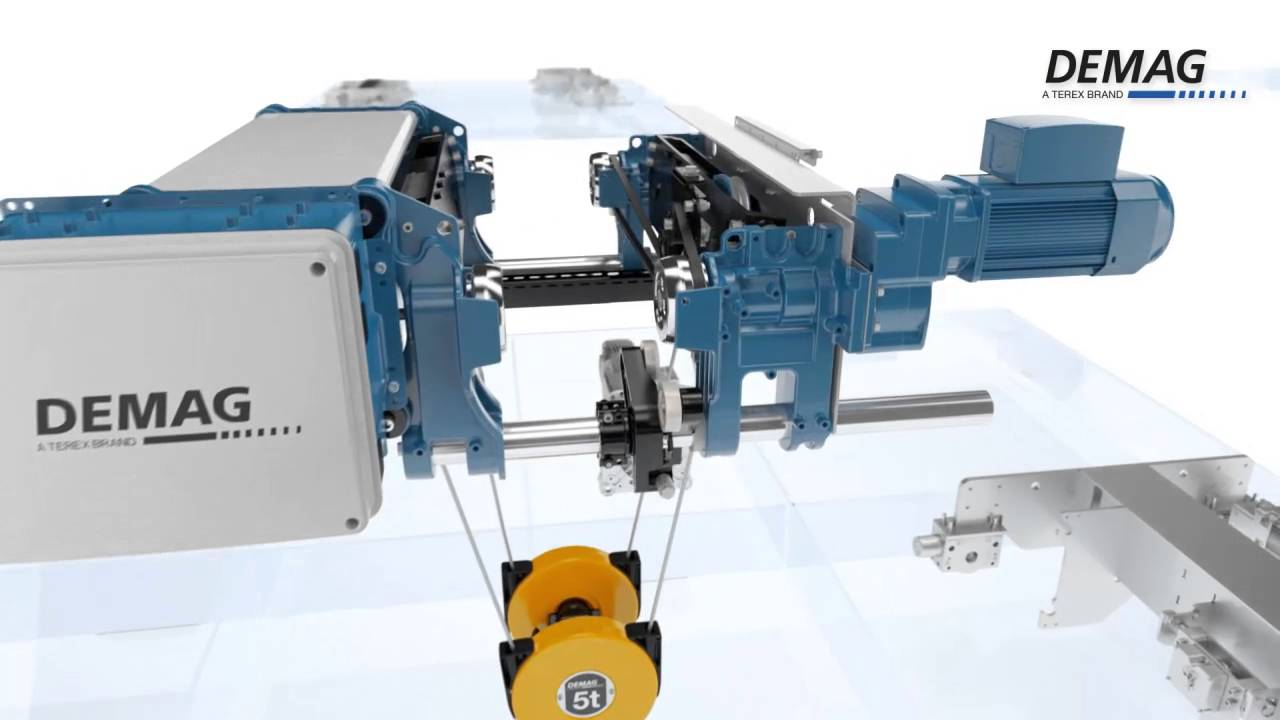 small resolution of demag wire rope hoist manual demag dmr rope hoist youtuberh youtube com