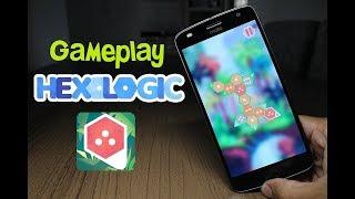 Muito Bom! Gameplay Hexologic no Android