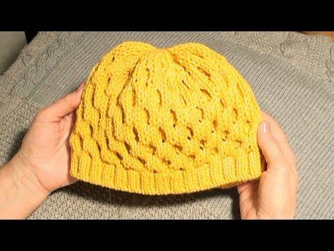 Вязание шапки шерстяные истории