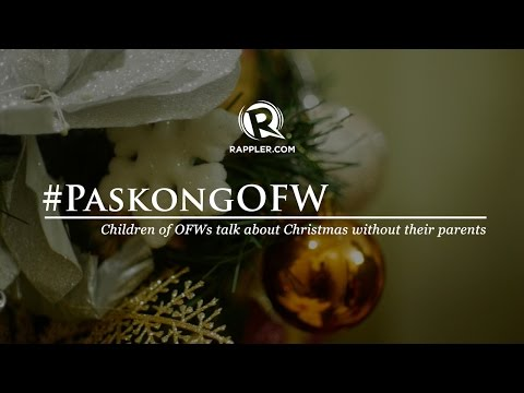 #PaskongOFW: Children of OFWs talk about Christmas without their parents