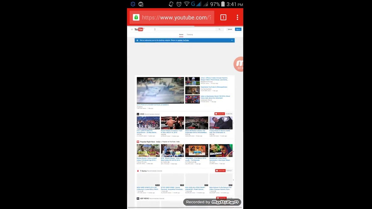 how to use the desktop version of youtube on android android tech