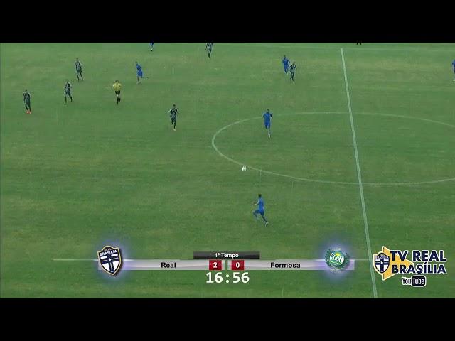 GOLS: REAL BRASÍLIA 4 X 0 FORMOSA | TV REAL BRASÍLIA