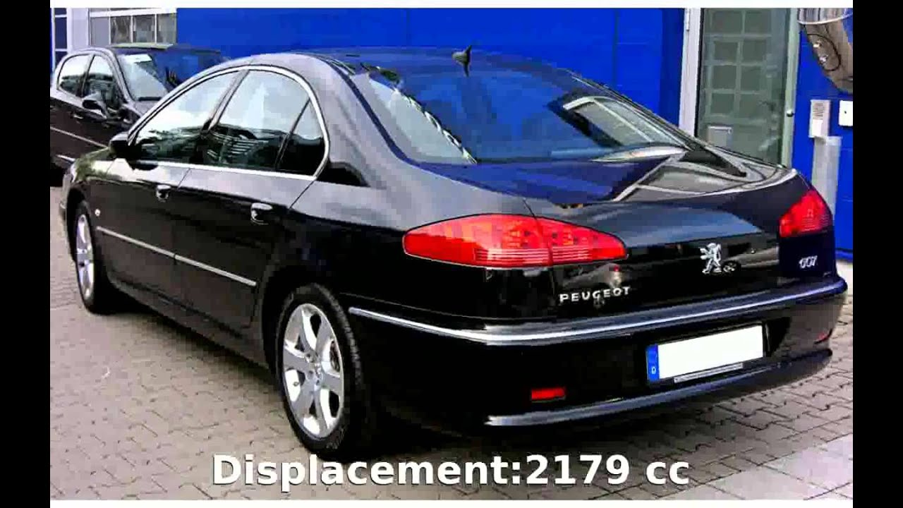 2004 peugeot 607 2 2 hdi fap technical details youtube. Black Bedroom Furniture Sets. Home Design Ideas