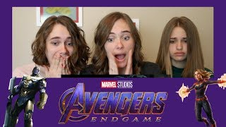 AVENGERS: ENDGAME Special Look Reaction!