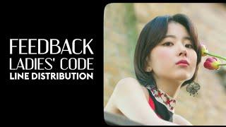 LADIES' CODE - FEEDBACK | LINE DISTRIBUTION