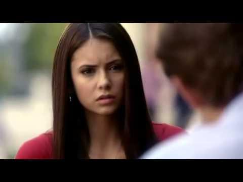 TVD 1X06 Stefan Elena  Stefan tells Elena a few facts on vampire Holly water Drinkable