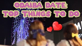 TOP THINGS in ODAIBA on a ROMANTIC DATE ♡