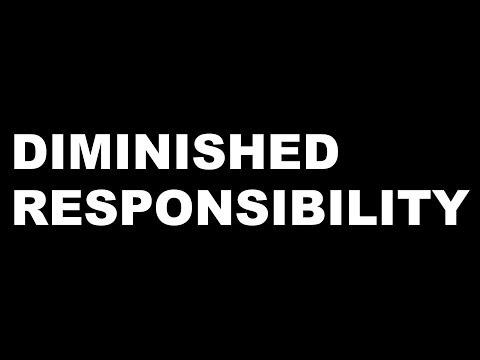 Criminal law - Diminished Responsibility
