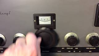 E.F. Johnson Viking I Vintage AM/CW Transmitter