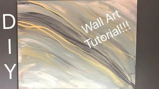 How to Fill Your Home with DIY Wall ART!! // Minimal Abstract Art tutorial