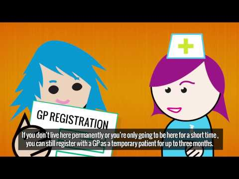 Registering With a GP - English Subtitles