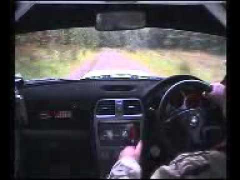 BUSHWAEKER  RALLY SS9 SLIEVEDOO IN CAR TREVOR FERGUSON