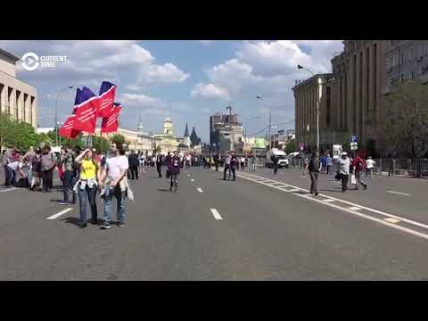 Moscow Rally Demands Internet Freedom