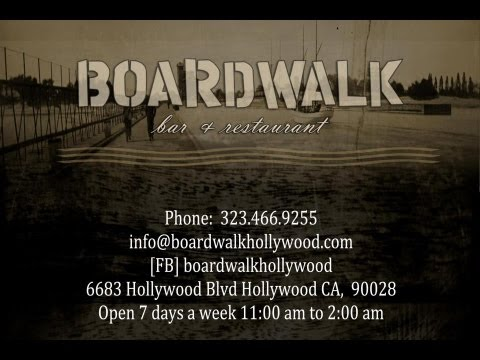 Boardwalk Bar & Restaurant Hollywood Grand Opening