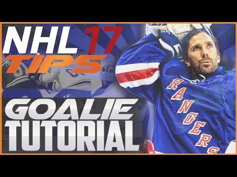 NHL 17 Tips: Goalie Tutorial | Top Tips to Shutout Opponents!
