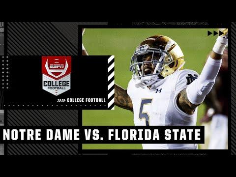 Notre Dame Fighting Irish at Florida State Seminoles | Full Game Highlights