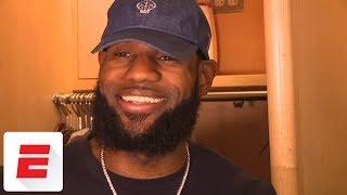 LeBron James heaps praise on former Browns lineman Joe Thomas | ESPN
