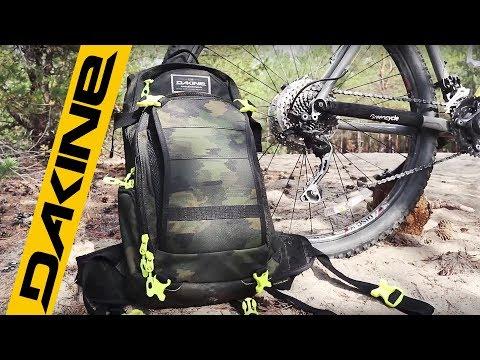 Dakine - обзор рюкзака и велосипедных шмоток. Велоблог