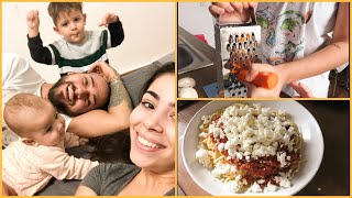 COOK WITH ME + MINI VLOG Team Petrov