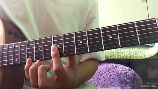 Đồi hoa mặt trời guitar tutorial part 1