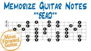 Memorize Guitar Notes   BEAD