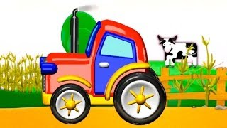 Build And Play - 3d Tractor App: Kids Machine Puzzles Review (Дети построить и узнать)