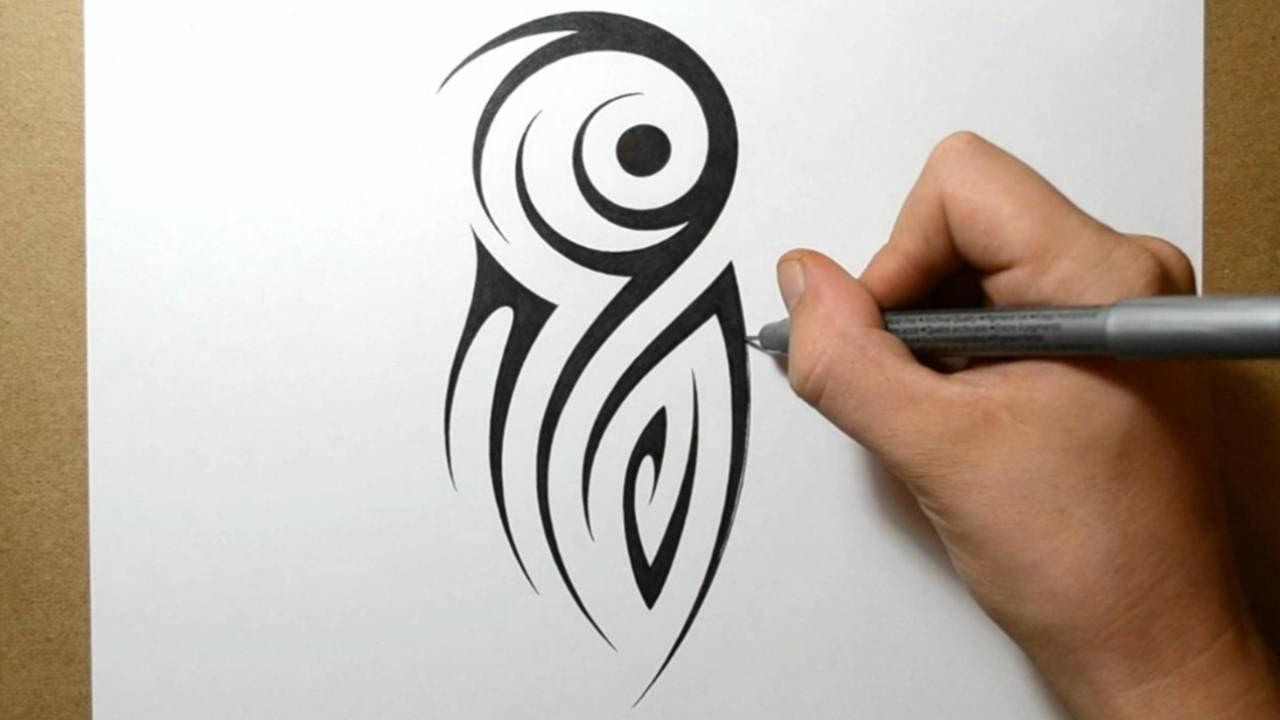 38a90cee9 Tribal Half Sleeve Tattoo Design - Idea 3 - YouTube