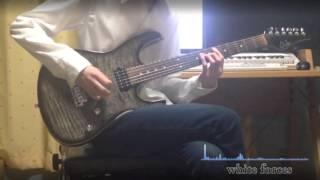 ギターa2cさんですね。 半音下げチューニングで弾いてます。 TV「シュヴァルツェスマーケン」オープニングテーマ fripSide「white forces 」 作詞・...