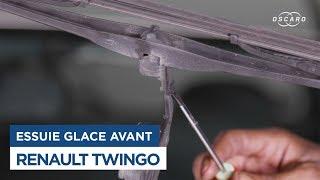 Changer le Balai d'Essuie-Glace avant sur Renault Twingo 1