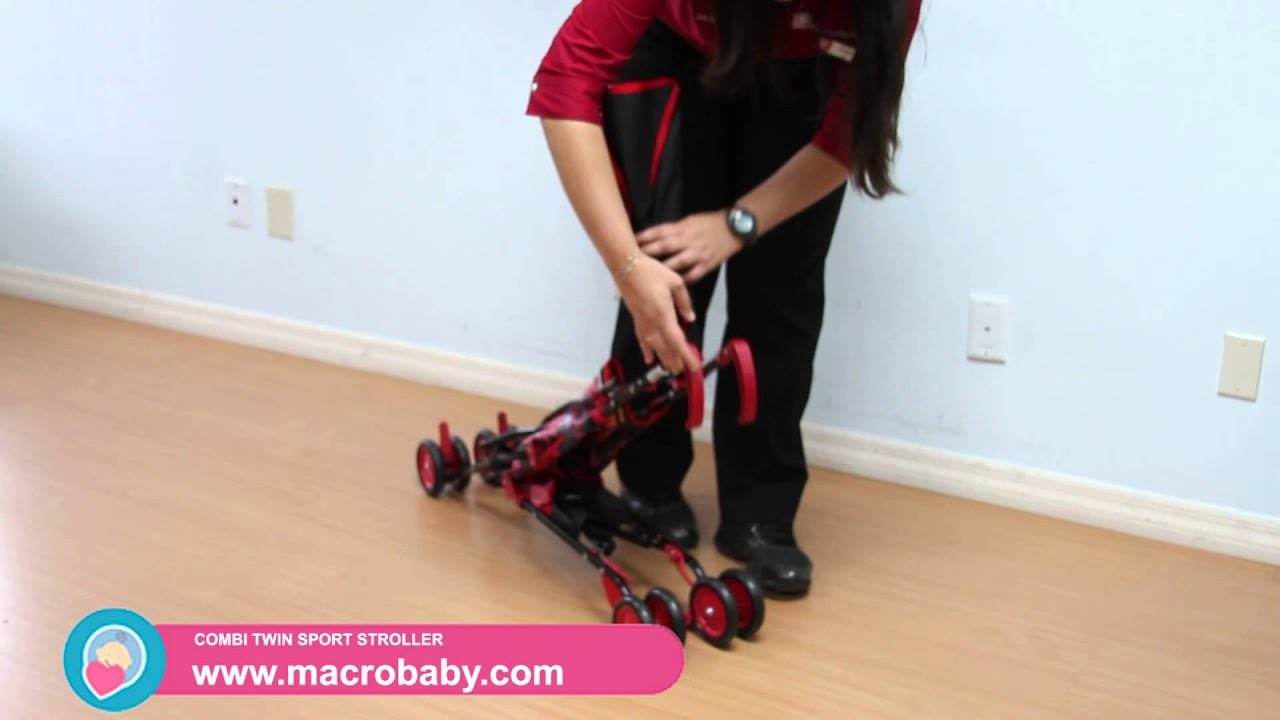 & MacroBaby - Delta Disney Umbrella Stroller - YouTube